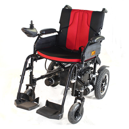 Lightweight Dual Function Power Wheelchair (Polymer Li-ion Battery) Aluminum Alloy Frame Drive with