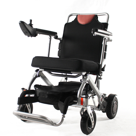 Bangeran Electric Wheelchair Folding Lightweight 40 lbs with Batteries Supports 270 lbs Aluminum All